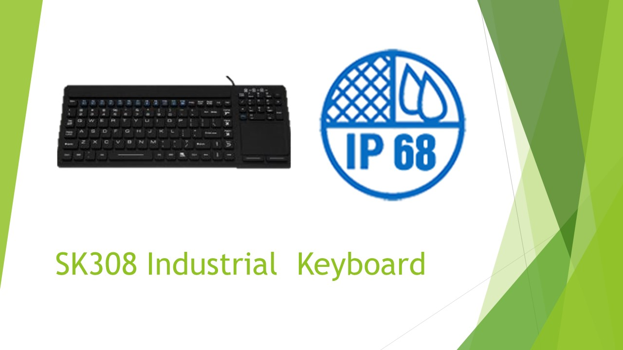 A Industrial Keyboard Just As Tough As You