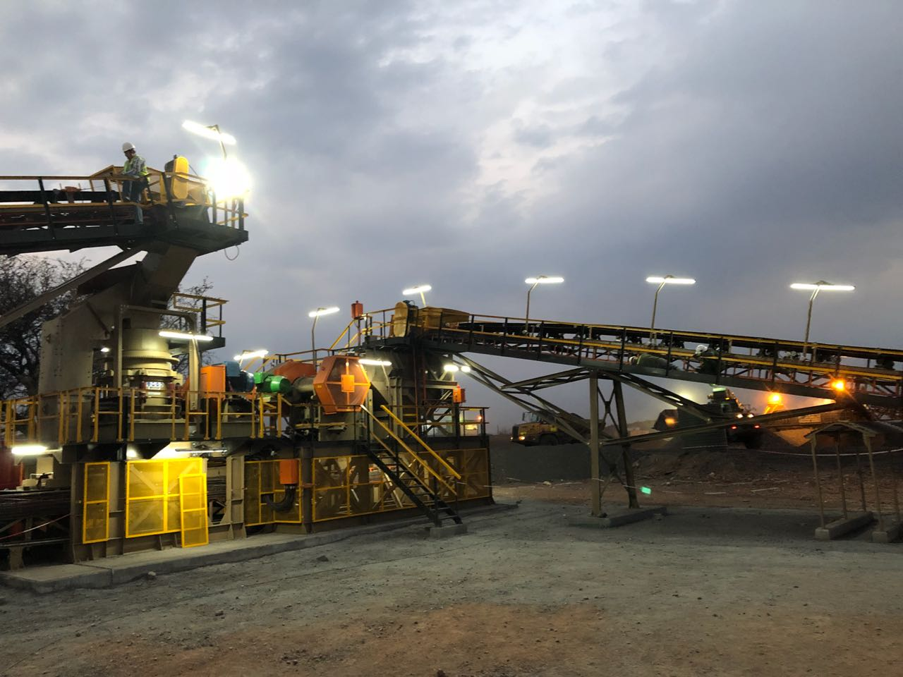 A Manganese Crushing & Screening Plant for MET63