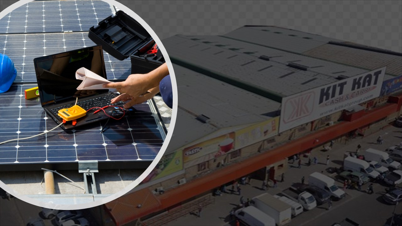530KWP Rooftop Solar Installation @ KIT KAT Cash and Carry